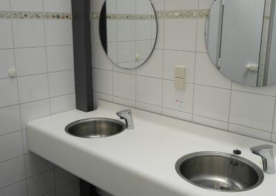 Schoon toiletgebouw Camping Spitsbroek Zeeland